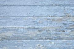 Vieja textura pintada resistida de los tableros de madera Foto de archivo
