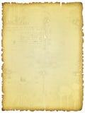 Vieja textura rasgada manchada foto de archivo libre de regalías