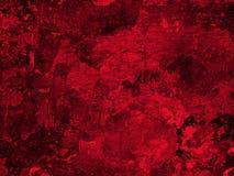 Vieja textura roja de la pared del yeso Fotografía de archivo