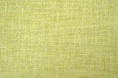 Vieja textura verde oliva brillante del paño Fotos de archivo