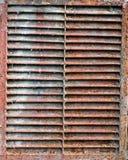 Vieja ventilación oxidada Foto de archivo libre de regalías