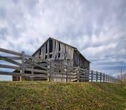 Vieja Virginia Barn Imagenes de archivo