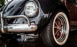 Vieja VW Volkswagen Beetle imagen de archivo