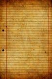Vieja y gastada textura de papel Imagen de archivo libre de regalías