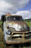 Vieja yarda del coche Imagen de archivo