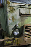Vieja yarda del coche Fotografía de archivo libre de regalías