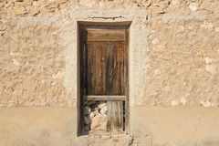 Viejas 50 de los ventanas de Puertas Imagenes de archivo