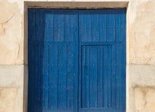 Viejas 42 de los ventanas de Puertas Imagen de archivo