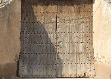 Viejas 32 de los ventanas de Puertas Imagen de archivo libre de regalías