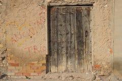 Viejas 45 de ventanas de Puertas Photo stock