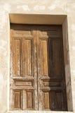 Viejas 18 di ventanas di Puertas y Fotografia Stock