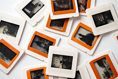 Viejas diapositivas Imagen de archivo libre de regalías