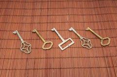 Viejas llaves Imagen de archivo