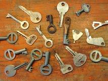 Viejas llaves Imagenes de archivo