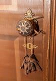 Viejas llaves de nuestra historia Imagen de archivo