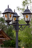 Viejas luces de calle para Fotografía de archivo