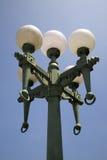 Viejas luces de calle retras Imagen de archivo