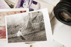 Viejas memorias de la fotografía fotografía de archivo