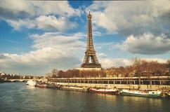 Viejas memorias románticas nostálgicas de París fotografía de archivo libre de regalías