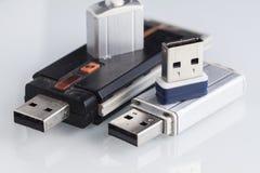Viejas memorias USB Fotos de archivo