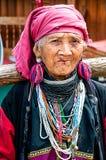 Viejas mujeres de la tribu de Karen Imagenes de archivo