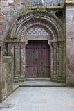 Viejas puertas de la iglesia Imagen de archivo