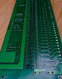 Viejas tarjetas de circuitos imagenes de archivo