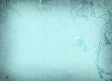 Viejas texturas de la flor de papel Fotos de archivo