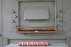 Viejo órgano Imagenes de archivo