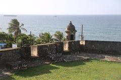 Viejo Сан-Хуан El, старый Сан-Хуан, perla Ла Стоковое Изображение RF