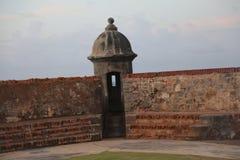 Viejo Сан-Хуан El morro El, старый Сан-Хуан, perla Ла Стоковые Изображения RF