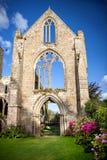 Viejo Abbaye Maritime de Beauport, en Paimpol, armadura del ` de los corrales-d, Bretaña, Francia Imágenes de archivo libres de regalías