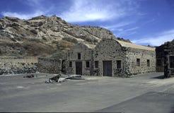 Viejo aceituna-presione Foto de archivo