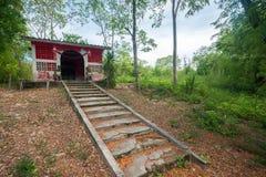 Viejo Ama Shrine, isla de Samaesan, provincia de Chonburi, Tailandia, el 13 de junio de 2015 imágenes de archivo libres de regalías