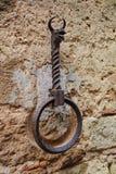 Viejo anillo del caballo Imagen de archivo libre de regalías