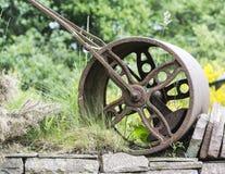 Viejo anillo oxidado Foto de archivo libre de regalías