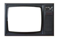 Viejo aparato de TV Imagen de archivo libre de regalías