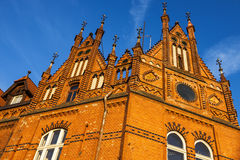 Viejo architecutre de Bydgoszcz Foto de archivo libre de regalías