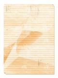 Viejo arrugado Imágenes de archivo libres de regalías