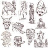 Viejo arte 3 libre illustration