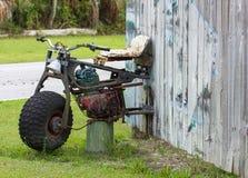 Viejo arte de la motocicleta Fotos de archivo