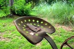 Viejo asiento del alimentador Imagen de archivo