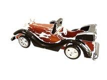 Viejo automóvil descubierto Imagen de archivo
