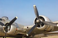 Viejo avión de la guerra Imagen de archivo
