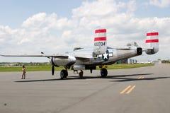 Viejo avión de los E.E.U.U. Fotos de archivo libres de regalías
