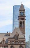 Viejo ayuntamiento, Canadá Toronto Imagen de archivo