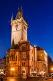 Viejo ayuntamiento, Praga Mesto de la mirada fija Imagen de archivo libre de regalías