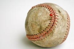 Viejo béisbol Imágenes de archivo libres de regalías
