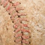 Viejo béisbol. Fotos de archivo