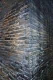 Viejo backgound de la esquina de la pared Imagen de archivo libre de regalías